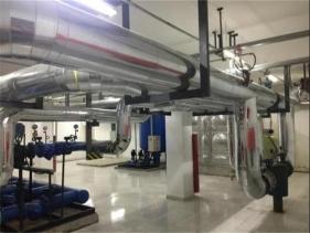 碧桂园B地块换热站安装工程